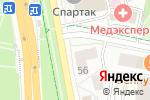 Схема проезда до компании Фиалка в Белгороде