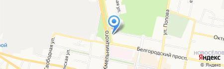 Прайд на карте Белгорода