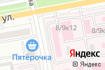 Схема проезда до компании Белгородское патологоанатомическое бюро в Белгороде