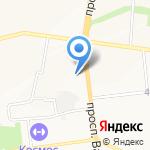 Джинсомания на карте Белгорода