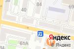 Схема проезда до компании Шелк в Белгороде