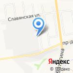 Квадра на карте Белгорода