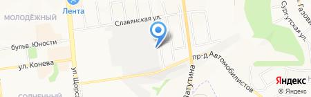 Южная генерация на карте Белгорода
