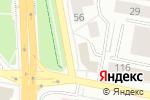 Схема проезда до компании Принта в Белгороде