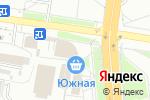 Схема проезда до компании Шоколадный остров в Белгороде
