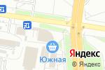 Схема проезда до компании Ирис в Белгороде