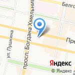 Альфамед на карте Белгорода