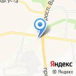 Шоколадный остров на карте Белгорода