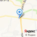 Перчик на карте Белгорода