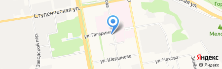 Управление регулирования и контроля организации строительства на карте Белгорода