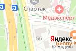 Схема проезда до компании Pay. Travel в Белгороде