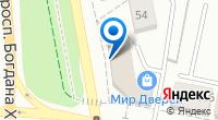Компания Белпожтехника на карте