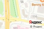 Схема проезда до компании ИНГОССТРАХ, СПАО в Белгороде