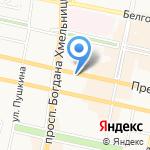 Лалибела на карте Белгорода