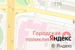 Схема проезда до компании Городская муниципальная клиническая больница №1 в Белгороде