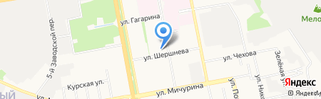 Белгородский государственный театр кукол на карте Белгорода