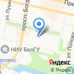 Ортодонт+ на карте Белгорода