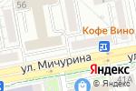 Схема проезда до компании Гильдия мастеров в Белгороде
