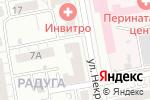 Схема проезда до компании ТехнологиЯ в Белгороде
