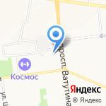 Русич на карте Белгорода