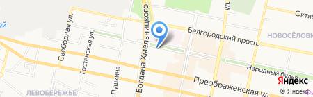 Центр спортивной подготовки на карте Белгорода