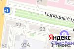 Схема проезда до компании Совет муниципальных образований Белгородской области в Белгороде