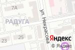 Схема проезда до компании Фиори в Белгороде