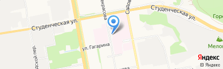 Храм Святой Блаженной Матроны Московской на карте Белгорода