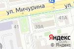 Схема проезда до компании Ветеринарная клиника в Белгороде