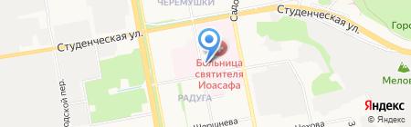 Белгородское патологоанатомическое бюро на карте Белгорода