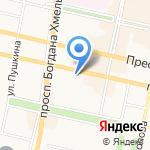 Башня на карте Белгорода
