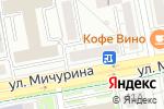 Схема проезда до компании Ситцевый мир в Белгороде