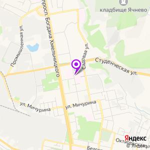 Областная больница Святителя Иоасафа на карте