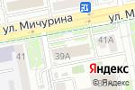 Схема проезда до компании Белтехноресурс в Белгороде