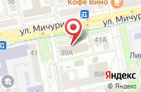 Схема проезда до компании Юристы31.рф в Белгороде