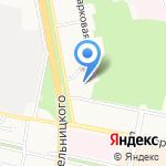 Элекснет на карте Белгорода