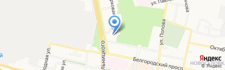Тендер-Профи на карте Белгорода