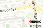 Схема проезда до компании Арт-Фрейм в Белгороде