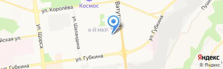 Элис на карте Белгорода