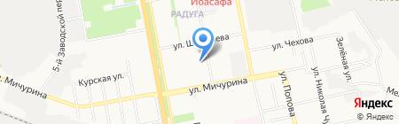 Детский сад №10 Земский на карте Белгорода