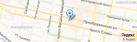 Детский сад №63 на карте Белгорода
