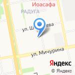 Земский на карте Белгорода