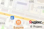 Схема проезда до компании Оборудование-сервис в Белгороде