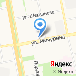 Tele2 на карте Белгорода