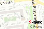 Схема проезда до компании Эстетик-Центр в Белгороде