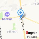 Лови Букет на карте Белгорода