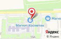 Схема проезда до компании Фантазия в Дубовом