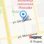 Блеск на карте Белгорода