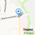Селена на карте Белгорода