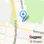 Камуфляжка на карте Белгорода